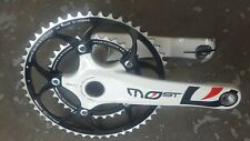 FSA Team Issue CARBON chainset PINARELLO MOST with TA Zephyr Chainrings 10s NEW
