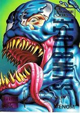 VENOM - 1995 Marvel Masterpieces Parallel Signature EMOTION card no. 108  RARE
