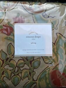 Pottery Barn Simone Drape 50x84 New In Package