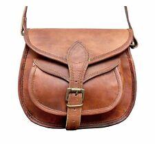 Leather Crossbody Messenger Bag Women Satchel Handbags Sling Bags Mini 9 In