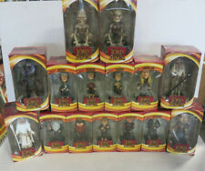 """LORD OF THE RINGS Bobbleheads COMPLETE Set of 15 Figures 8"""" & 9"""" -  NIB"""