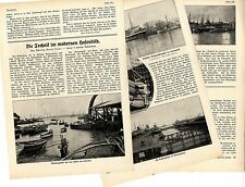 Dipl. - Ing. Georg Ohaus puerto imágenes colombo hong Génova Penang Bremerhaven 1914
