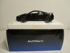 ( GOK ) 1:18 AUTOart Honda NSX ( NC1 ) black NEU OVP