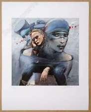 Affiche Bilal Enki Bevilacqua Christophe Estampe pigmentaire 99ex signée 40x50