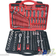 219pc large socket set PROFESSIONAL tool spanner metric wrench apprentice kit