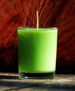 40hr LIMES & YLANG YLANG Triple Scented Citrus Natural Soy Wax Jar CANDLE Gifts