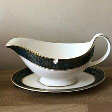 Royal Doulton Carlyle Gravy Boat w/underplate
