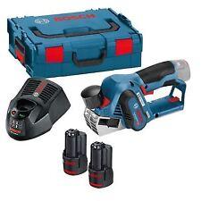 Bosch GHO12 V-20 Brushless 12 V Planer Li-ion Batteries L-Boxx Kit (06015A7071)