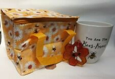 Bee gift set, perfect gift for friend or family. 10% to bumblebee trust