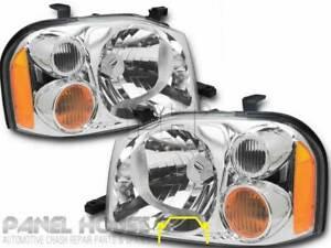 Nissan Navara D22 Ute 01-14 Pair RIGHT + LEFT Head Light Brand New ADR Lamp