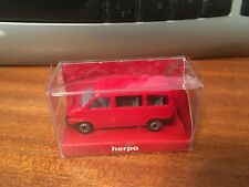 1/87 Scale 'HO' Herpa 041560 VW Carravelle - Red - Boxed