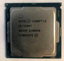Intel Core i3-7100T 3.4GHz LGA 1151 SR35P 2 Core 4 Lot of 3