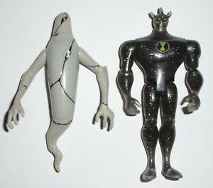 Ben 10 Alien Force Alien X + Ghostfreak 10cm Figures