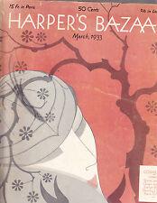 Harper's Bazaar March 1933 Erte Mainbocher Cruise Wear