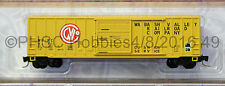 Z Scale - MICRO-TRAINS LINE 510 00 320 WABASH VALLEY 50' Rib Side Box Car
