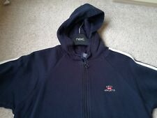 Boys Navy Hooded Next 100% Cotton 5 Years used in good condition