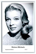 Dolores Michaels c Swiftsure Postcard year 2000 modern print A28/2 glamour photo