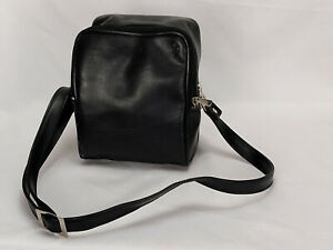 Vintage Polaroid Camera Bag Black Camera Shoulder Bag Adjustable Strapp YKK Zip