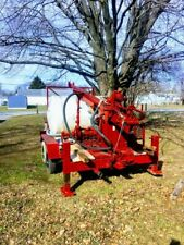 Buck Rodgers trailer mounted well drill complete with 200' drill rod mission mud