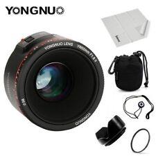 YONGNUO YN 50mm F/1.8 II Lens Auto Focus AF/MF For Canon DSLR Camera 60D 70D 5D2