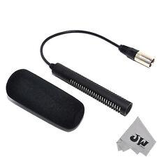 JJC Super Directional Elektret Mikrofon ersetzt Sony ECM-NV1 DSR-PD170