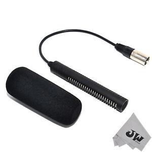 JJC Super directional electret Microphone replaces SONY ECM-NV1 DSR-PD170