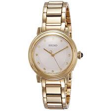 Relojes de pulsera de acero inoxidable dorado para mujer 062e77265a47