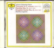 BACH - Partita 2 / English Suite 2 / Toccata - Martha ARGERICH - DG WG PDO