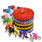 LOT Braided Micro USB Charger Cable Cord Sync For Android Cell Phone Lot