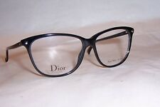 NEW CHRISTIAN DIOR EYEGLASSES CD 3270 807 BLACK 53mm RX AUTHENTIC