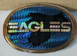 VINTAGE 1977 PACIFICA THE EAGLES PRISM BELT BUCKLE
