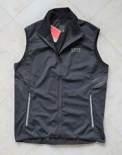 New Men's Mythos Gore Running Wear Windstopper Light Vest Size L