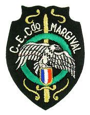 Ecusson brodé militaire ♦ (patch/crest embroidered) ♦ CE COMMANDO MARGIVAL