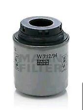 MANN-FILTER W 712/94 Oil Filter AUDI VW SKODA