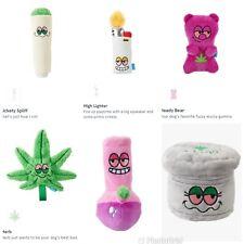 🐶NWT BarkBox April 420 Bundle Limited Edition 6 Dog Toys Grinder Leaf Joint