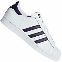 adidas Originals Superstar Damen Sneaker Schuhe Turnschuhe DB3346 White Purple