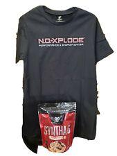 BSN SYNTHA-6 COLDSTONE Creamery Protein Powder 4/2020exp 14.9oz + 2XL T-Shirt