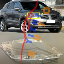 1*Right Side Transparent Headlight Cover+Glue Replace For Lincoln MKC 2015-2019