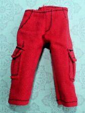 MONSTER HIGH ~  Create C. A. M Boy Gargoyle Red SHORTS Clothes