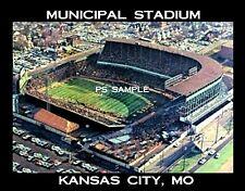 Kansas City - MUNICIPAL STADIUM - Travel Souvenir Fridge MAGNET
