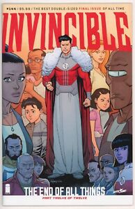 Invincible #144, 2018 Image, NM, Final Issue