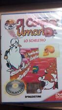 DVD ESPLORANDO IL CORPO UMANO N° 3 LO SCHELETRO  NUOVO