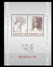 "DANIMARCA - DENMARK - 1992 - ""NORDIA '94"". Esposizione filatelica"