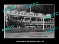 OLD LARGE HISTORIC PHOTO OF TORRENT KENTUCKY VIEW OF THE PARK HOTEL c1900