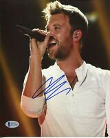 Charles Kelley Lady Antebellum Country Singer Signed Autograph Photo BAS COA