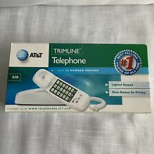 AT&T Tl-210WH Trimline Corded Phone - White