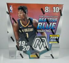 2019-20 Panini Mosaic Basketball MEGA BOX Reactive Blue Prizm FACTORY SEALED
