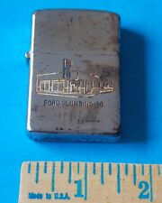 VINTAGE ADVERTISING ZIPPO FORD PLUMBING CO LIGHTER! RHETT STIDHAM ESTATE