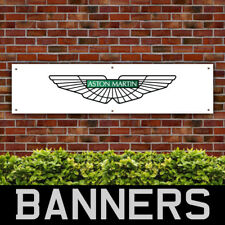 Aston Martin PVC Banner Wings Garage Workshop Sign (BANPN00003)