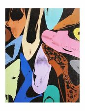 Diamond Dust Shoes by Andy Warhol Art Print Poster 31.5x23.5